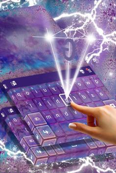 Purple Haze Keyboard apk screenshot