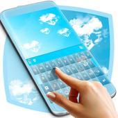 Blue Sky Keyboard Theme icon