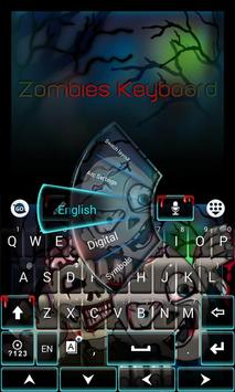 Zombies GO Keyboard Theme screenshot 1