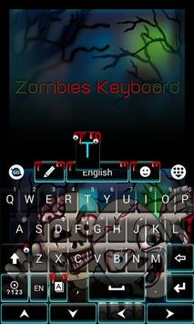 Zombies GO Keyboard Theme screenshot 3