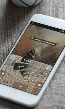 Melancolic Keyboard Theme apk screenshot