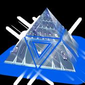 North pole sky Keyboard Theme icon