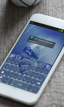 North pole sky Keyboard Theme apk screenshot