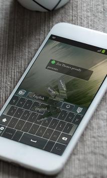 Garden of bliss Keyboard Theme apk screenshot