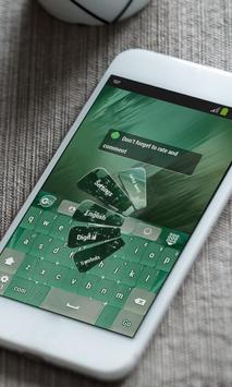 Green city Keyboard Theme apk screenshot
