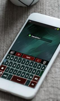 Green Collapse Keyboard Theme apk screenshot