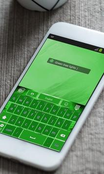 Green tree lights Keyboard screenshot 10