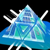 Holy Blue Keyboard Theme icon