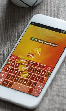 Lava blasts Keyboard Theme poster