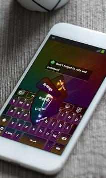 Light Model Keyboard Theme apk screenshot