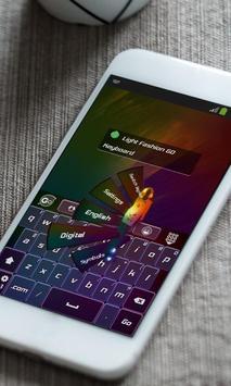 Light Fashion Keyboard Theme apk screenshot