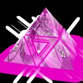 Pink Lady Keyboard Theme icon