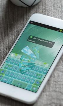 Pixel space Keyboard Theme apk screenshot