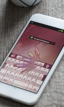 Survival Keyboard Theme screenshot 5