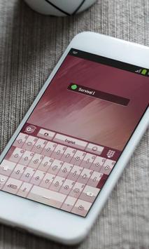 Survival Keyboard Theme screenshot 6