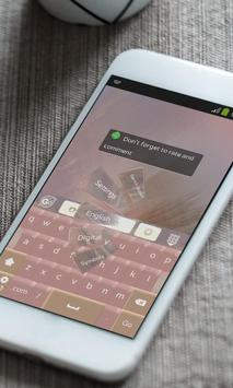Sledge marks Keyboard Theme apk screenshot