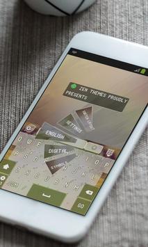 The woodpecker Keyboard Theme apk screenshot
