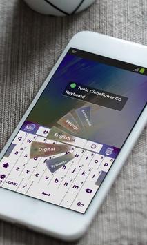 Tonic Globeflower Keyboard apk screenshot