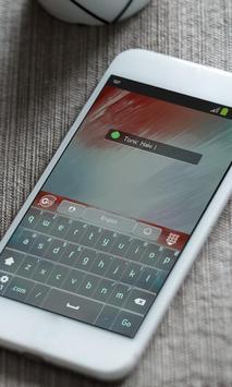 Tonic Kaki Keyboard Theme apk screenshot
