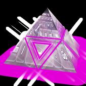 Translucid purple Keyboard icon