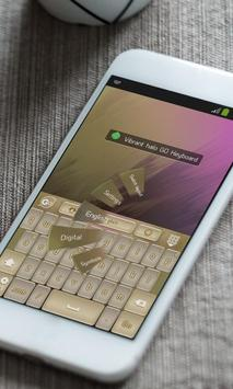 Vibrant halo Keyboard Theme apk screenshot