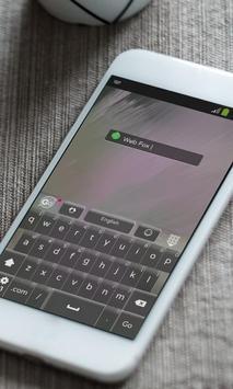 Web Fox Keyboard Theme apk screenshot