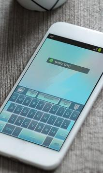 White sun Keyboard Theme screenshot 10