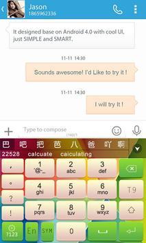 GO Keyboard Nexoe Theme screenshot 4
