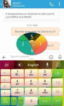 GO Keyboard Nexoe Theme screenshot 3