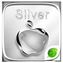 Silver GO Keyboard Theme APK