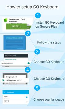 Bamboo GO Keyboard Theme Emoji apk screenshot