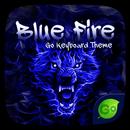 Blue Fire GO Keyboard Theme APK