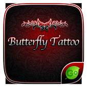 Butterfly Tattoo KeyboardTheme icon