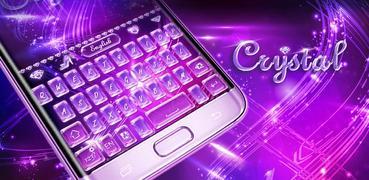 Crystal GO Keyboard Theme