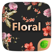 Floral GO Keyboard Theme Emoji icon