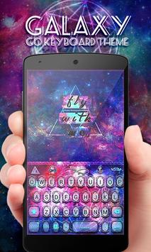 Galaxy GO Keyboard Theme Emoji apk screenshot
