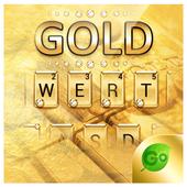 Gold Pro GO Keyboard Theme icon