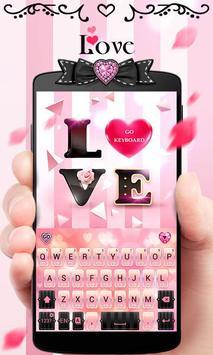 Love GO Keyboard Theme & Emoji poster