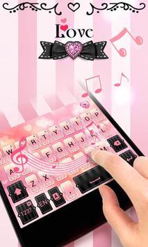 Love GO Keyboard Theme & Emoji apk screenshot