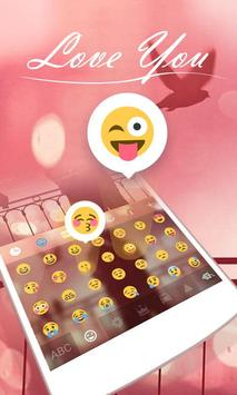 Love You GO Keyboard Theme apk screenshot