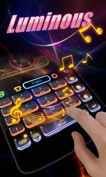 Luminous GO Keyboard Theme apk screenshot