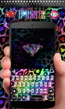 Pink GO Keyboard Theme & Emoji apk screenshot