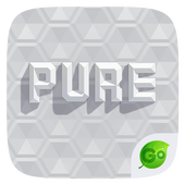 Pure GO Keyboard Theme & Emoji icon