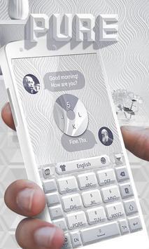 Pure GO Keyboard Theme & Emoji apk screenshot