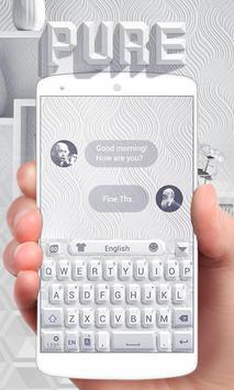 Pure GO Keyboard Theme & Emoji poster