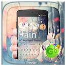 Rain GO Keyboard Theme APK