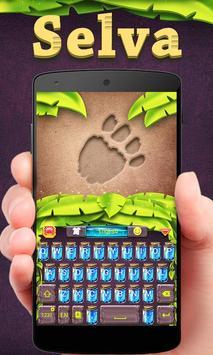 Selva GO Keyboard Theme Emoji poster