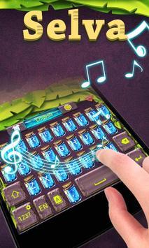 Selva GO Keyboard Theme Emoji apk screenshot