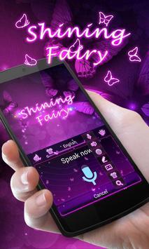 Shining Fairy Keyboard Theme apk screenshot