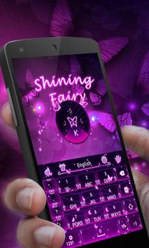 Shining Fairy Keyboard Theme apk screenshot